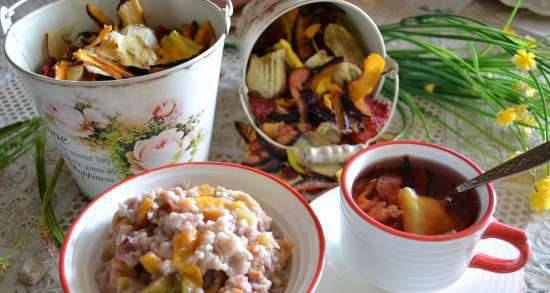 """Drying """"Fruit and berry bouquet"""", natural whole fiber, herculean porridge """"like from a bag"""", fruit drink"""