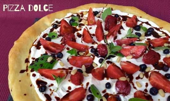 Sweet pizza (Pizza Dolce)