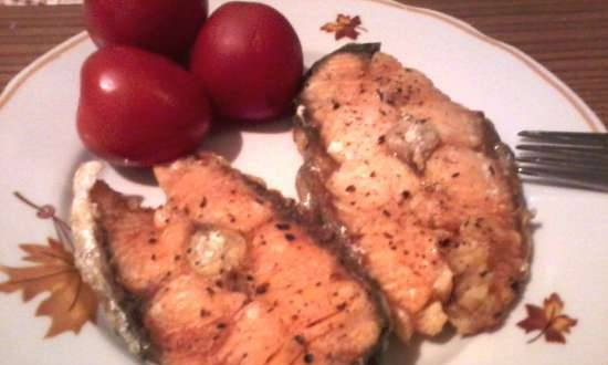 Salmon in the microwave