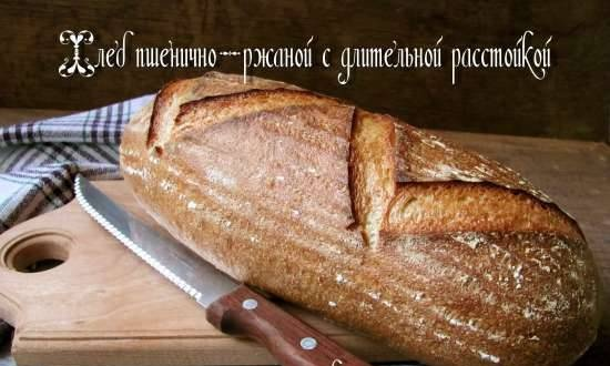 Wheat-rye bread with long proofing