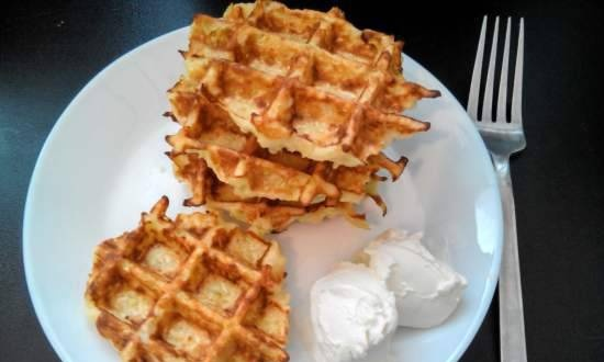 Cabbage waffles