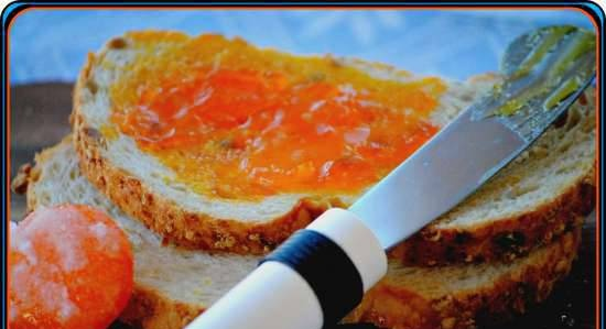 """""""Jam"""", or red caviar from egg yolks"""