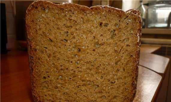 Wheat-rye bread with chicory (bread maker)
