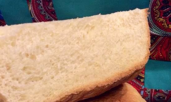 """LG HB-151JE. Bread """"French"""" with milk and pressed yeast"""