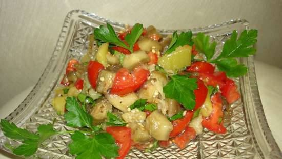"""""""Autumn Trio"""" salad of baked vegetables (all year round)"""