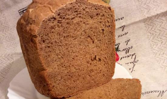 """LG HB-151JE. """"Kefir"""" bread with molasses on pressed yeast"""