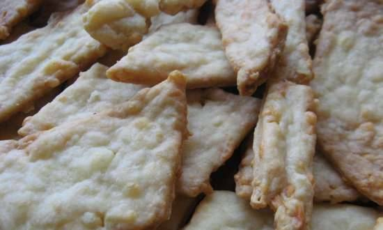 """Cheese cookies """"Even if you don't like cheese ..."""""""