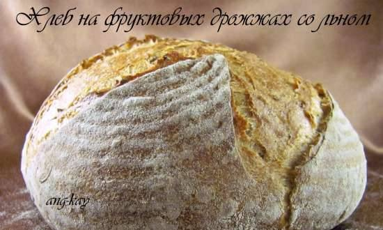 Fruit Yeast Bread with Flax