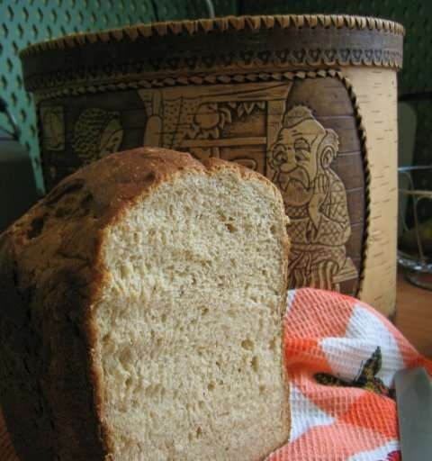 """Bread """"Health"""" from whole flour"""