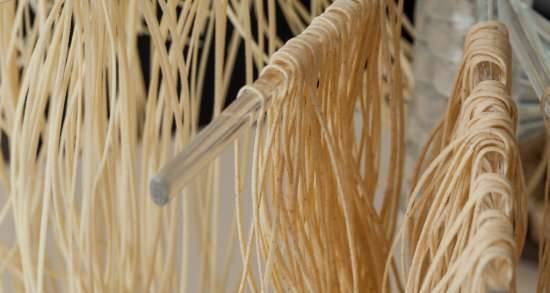 Homemade noodles with Kenwood kitchen machine