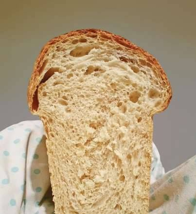 Grade 1 flour bread with whey (oven)