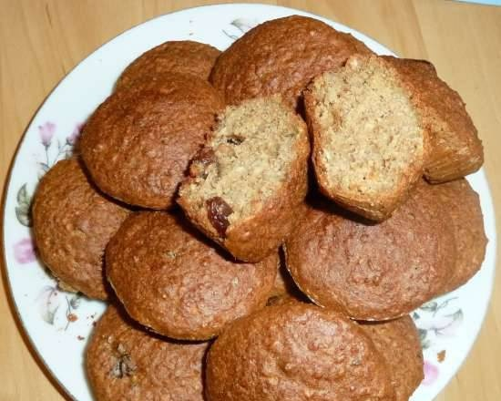 Diet oatmeal muffins