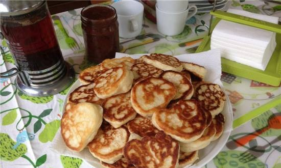Blues (old recipe for simple pancakes)