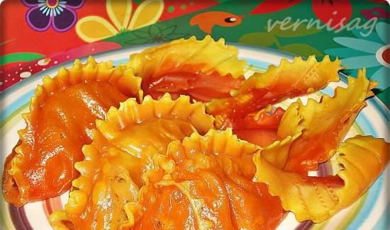 """Manty """"Goldfish"""" (ideas for colored dough)"""