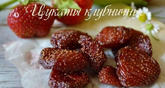 Candied strawberry