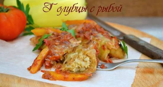 Cabbage rolls with fish (lean)