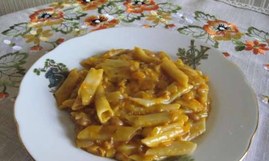 """Pasta """"Piquant"""" in the Russian manner (Multicooker Redmond RMC-02)"""