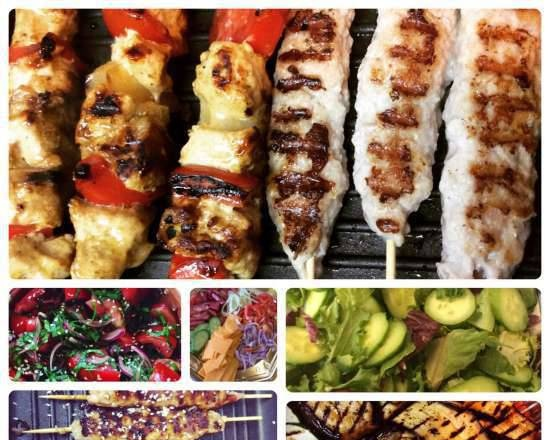 Grill for children's party