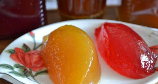 Strong jelly from gooseberry, sea buckthorn and red currant, without gelling additives (hot method)