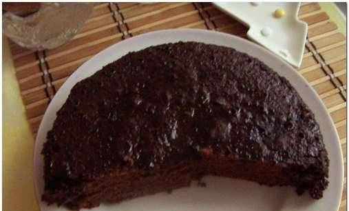 Multicooker Chocolate Pie (inexpensive, for the lazy)