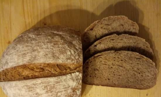 """Apple whole-grain bread with liquid yeast """"assorted"""""""