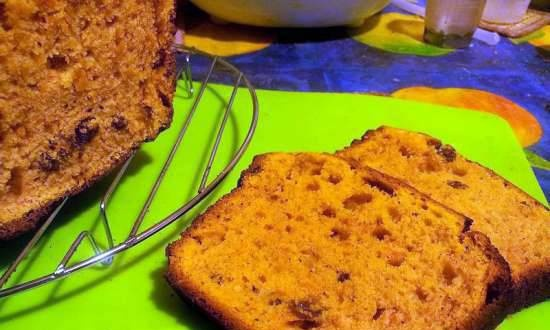 """Cottage cheese-pumpkin cake """"Last day of autumn"""""""