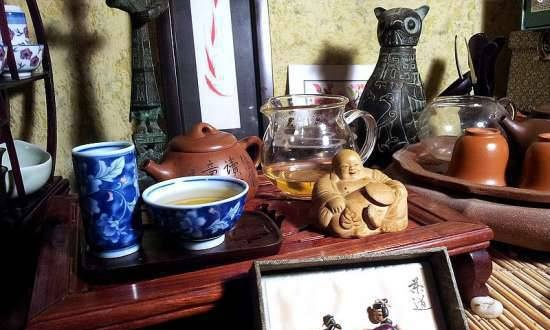 Gongfu cha or Chinese tea ceremony