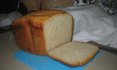 Bread with processed cheese (bread maker)