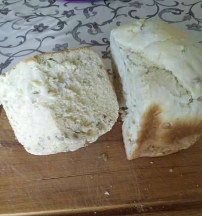 Philips HD9016. Bread with seeds (Express)