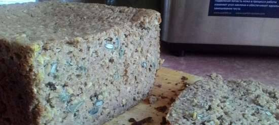 100% Rye bread with linseed and pumpkin seeds