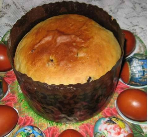 Custard Easter cake (another option)