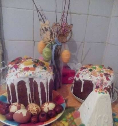 Easter cake in the Moulinex OW3101 Uno bread maker
