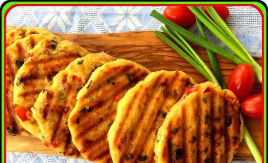 """Bread pancakes """"After a picnic"""""""