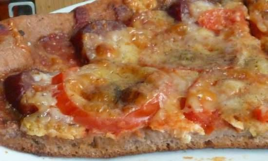 Dough for wheat-rye pizza from Panasonic