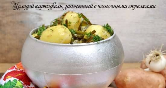 Young Potatoes Baked with Garlic Arrows (Lean)
