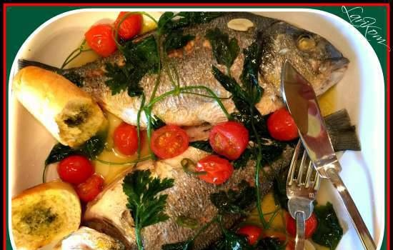 Seabream in Creazy Water
