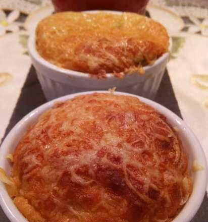 Fish soufflé in French