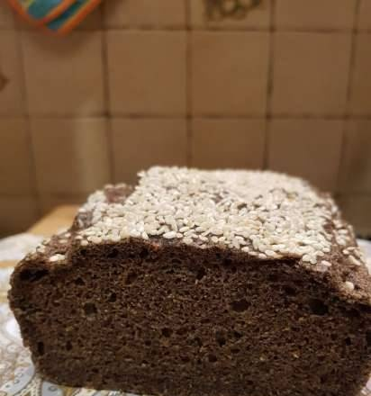 Bread without yeast and flour