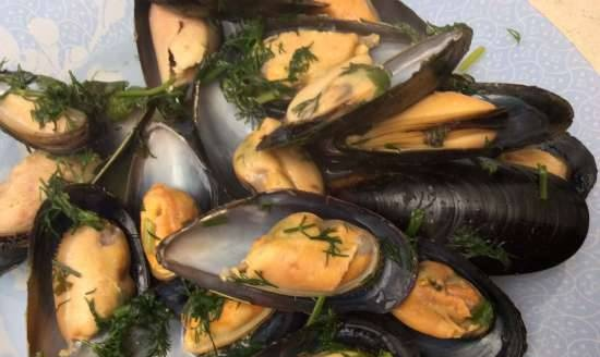 Mussels in cider