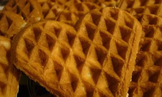 """Loose biscuits in the """"Hearts"""" waffle iron"""