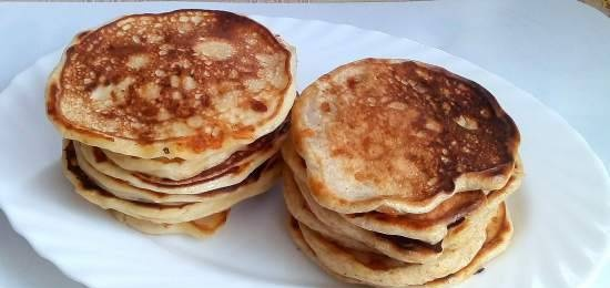 Cheese pancakes (two options)