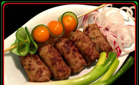 Cevapcici from a bottle