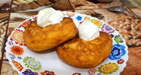 """Cheesecakes """"Lakomka"""" (for those who do not like cottage cheese or carrots)"""