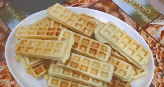 Mom's waffles (from the Soviet past)