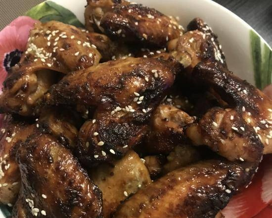 Chicken wings in any marinade