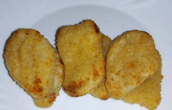 Nuggets for a grandson in 15 minutes (when the stove is not working)