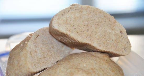 Steam bread based on Chinese mantou buns