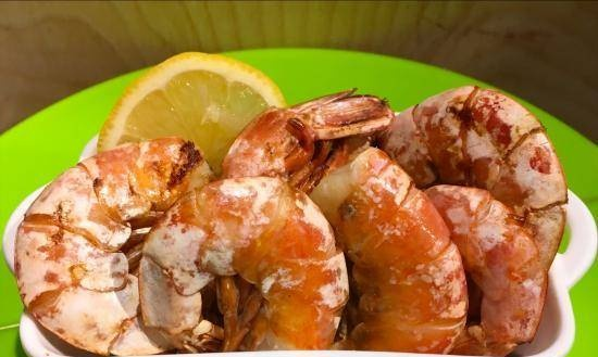 Grilled shrimp Ninja Foodi 5-in-1 4-qt. (AG301) with Thousand Island Sauce