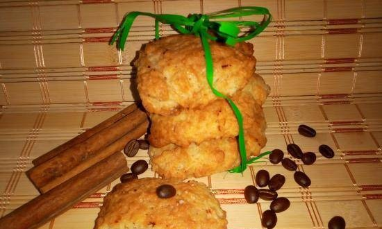 Shortbread cookies, crumbly, aromatic