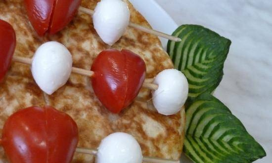 Breakfast for loved ones on St. Valentine